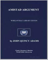 Amistad Argument by Adams, John Quincy