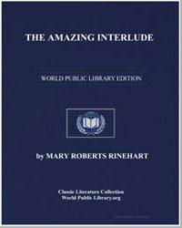The Amazing Interlude by Rhinehart, Mary Roberts