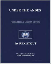 Under the Andes by Stout, Rex