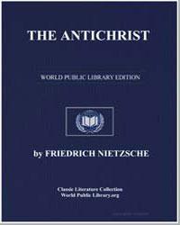 The Antichrist by Nietzsche, Friedrich