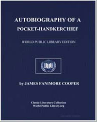 Autobiography of a Pocket-Handkerchief by Cooper, James Fenimore