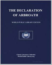 The Declaration of Arbroath by Anoymous