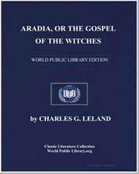 Aradia, Or the Gospel of the Witches by Leland, Charles G.