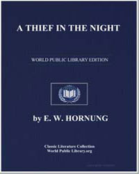 A Thief in the Night by Hornung, Ernest William
