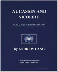 Aucassin and Nicolete by Lang, Andrew