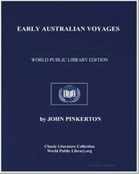 Early Australian Voyages by Pinkerton, John