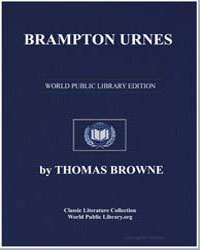 Brampton Urnes by Browne, Thomas, Sir