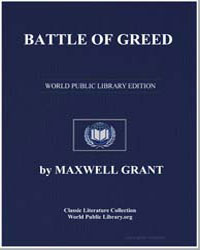 Battle of Greed by Grant, Maxwell