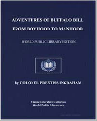 Adventures of Buffalo Bill from Boyhood ... by Ingraham, Prentiss