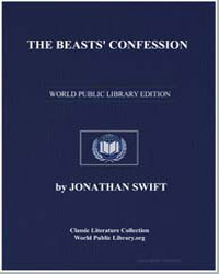 The Beasts' Confession by Swift, Jonathan