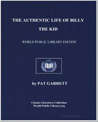 The Authentic Life of Billy the Kid by Garrett, Pat