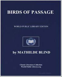 Birds of Passage by Blind, Mathilde