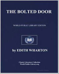 The Bolted Door by Wharton, Edith