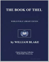 The Book of Thekla by Blake, William