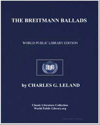 The Breitmann Ballads by Leland, Charles G.