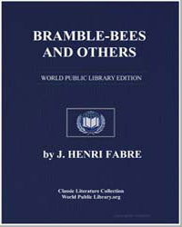 Bramble-Bees and Others by Fabre, J. Henri