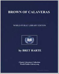Brown of Calaveras by Harte, Brett