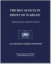 The Boy Scouts in Front of Warsaw by Durston, George