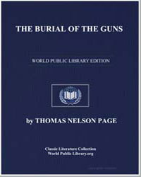 The Burial of the Guns by Page, Thomas Nelson