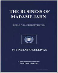 The Business of Madame Jahn by Osullivan Vincent