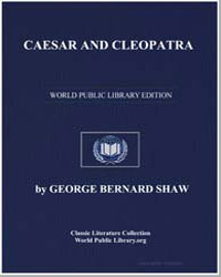 Caesar and Cleopatra by Shaw, George Bernard