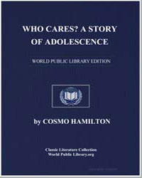 Who Cares a Story of Adolescence by Hamilton, Cosmo