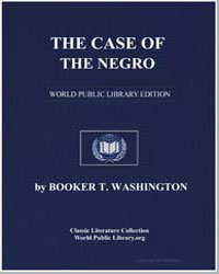 The Case of the Negro by Washington, Booker T.