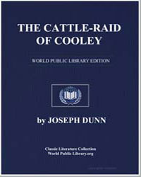 The Cattle-Raid of Cooley by Dunn, Joseph