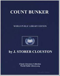 Count Bunker by Clouston, Joseph Storer