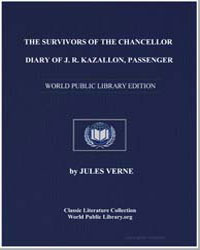 The Survivors of the Chancellor Diary of... by Verne, Jules