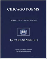 Chicago Poems by Sandburg, Carl