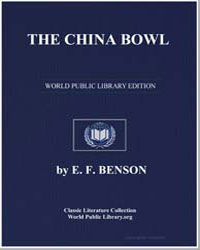 The China Bowl by Benson, Edward Frederic