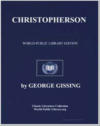 Christopherson by Gissing, George