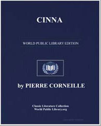 Cinna by Corneille, Pierre