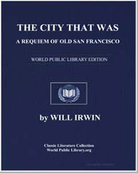 The City That Was : A Requiem of Old San... by Irwin, Will