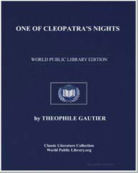 One of Cleopatra's Nights by Gautier, Théophile