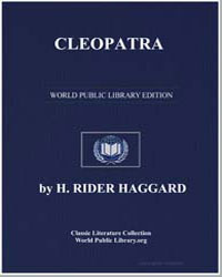 Cleopatra by Haggard, Henry Rider