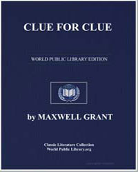 Clue for Clue by Grant, Maxwell