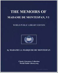The Memoirs of Madame de Montespan, Volu... by De Montespan, Madame La Marquise