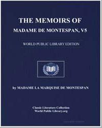 The Memoirs of Madame de Montespan, Volu... by De Montespan, Madame La Marquise