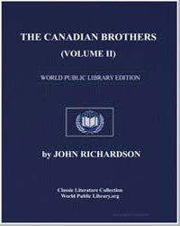 The Canadian Brothers, Volume Ii by Richardson, John