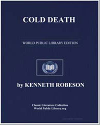 A Doc Savage Adventure : Cold Death by Robeson, Kenneth