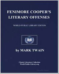 Fenimore Cooper's Literary Offenses by Twain, Mark