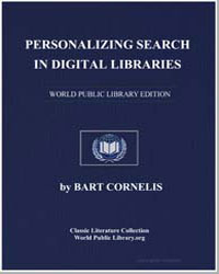 Personalizing Search in Digital Librarie... by Van Den Herik, H. J., Dr.