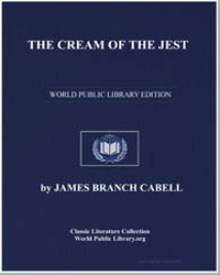 The Cream of the Jest by Cabell, James Branch