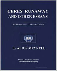 Ceres' Runaway and Other Essays by Meynell, Alice