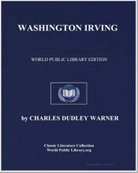Washington Irving by Warner, Charles Dudley