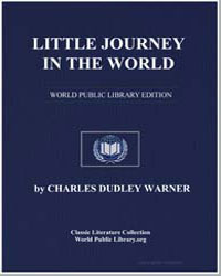 Little Journey in the World by Warner, Charles Dudley