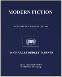 Modern Fiction by Warner, Charles Dudley