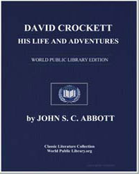 David Crockett : His Life and Adventures by Abbott, John Stevens Cabot